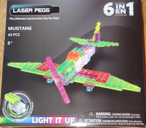 Mustang Zippy Do Laser Pegs