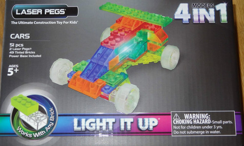 Cars MPS Laser Pegs