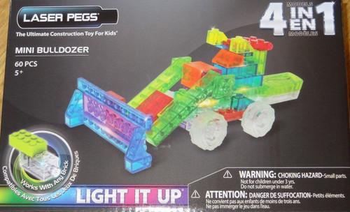 Mini Bulldozer MPS Laser Pegs