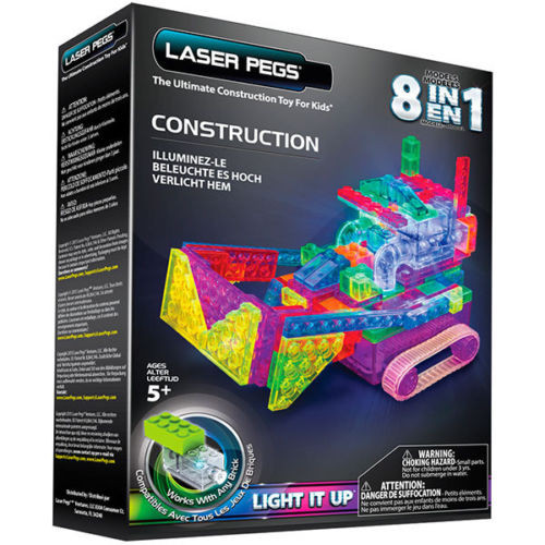 Construction Runner Laser Pegs