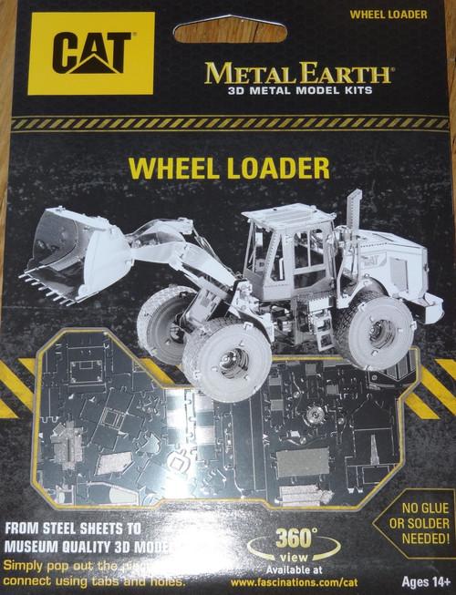 Wheel Loader CAT Metal Earth