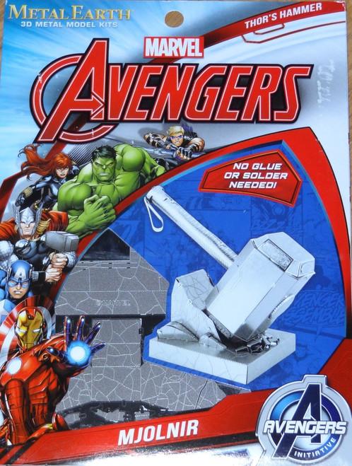 Thor's Hammer Mjolnir Marvel Avengers Metal Earth