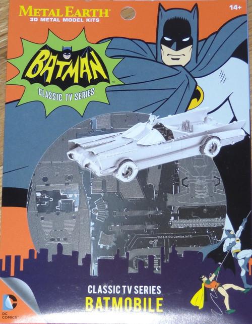 Classic TV Series Batmobile Batman Metal Earth