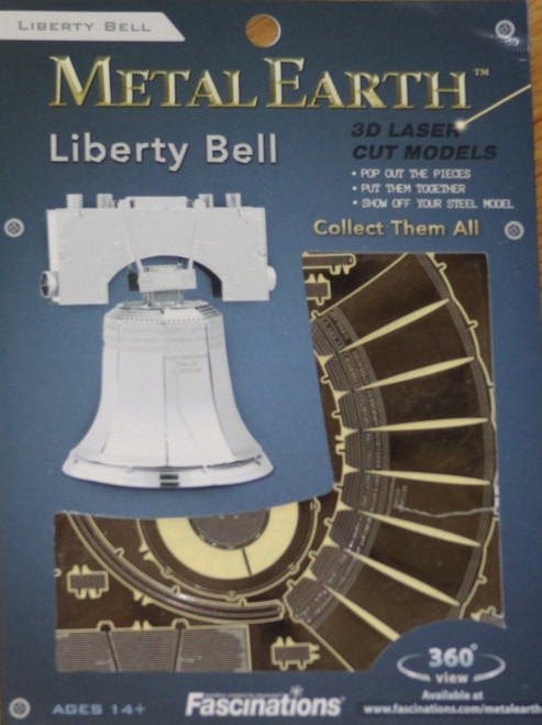 Liberty Bell Metal Earth