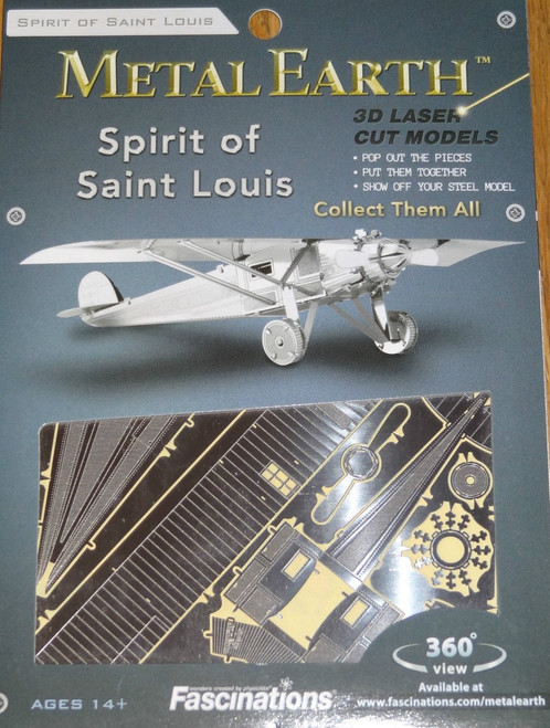 Spirit of Saint Louis Airplane Metal Earth