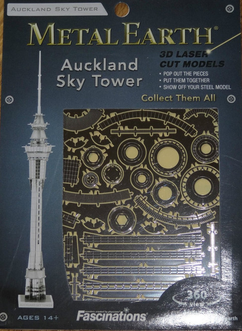 Auckland Sky Tower Metal Earth