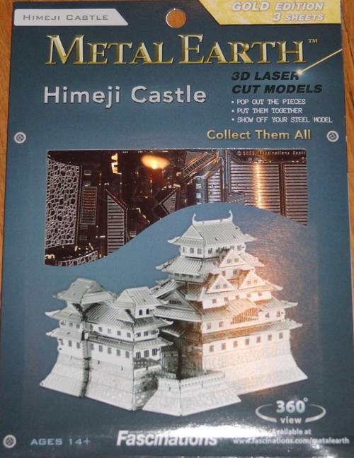 Himeji Castle Metal Earth