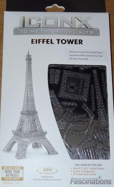 Eiffel Tower ICONX 3D Metal Model Kit