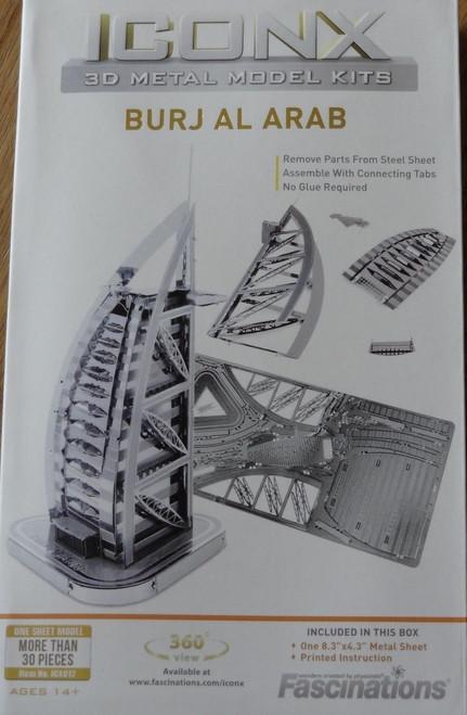 Burj al Arab ICONX 3D Metal Model Kit