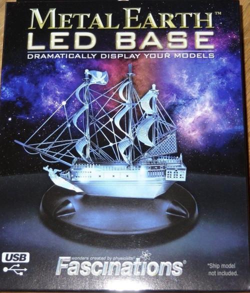 LED Display Base Metal Earth (Blue)