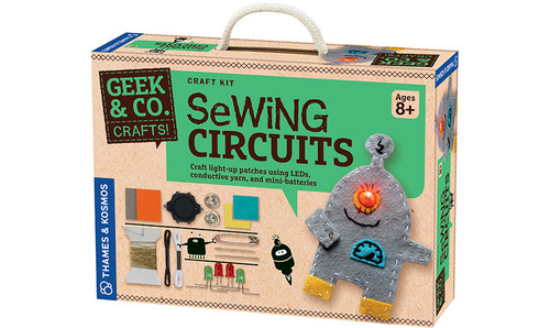 Sewing Circuits Geek & Co. Crafts!