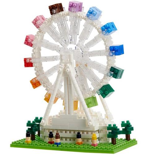 Ferris Wheel Amusement Ride TICO Mini Building Bricks