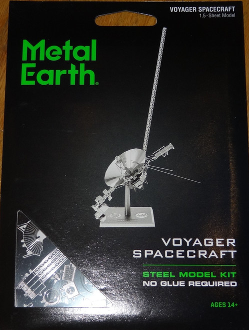 Voyager Spacecraft Metal Earth