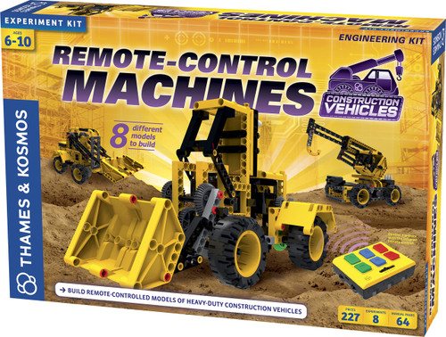 Remote-Control Machines: Construction Vehicles Engineering Kit