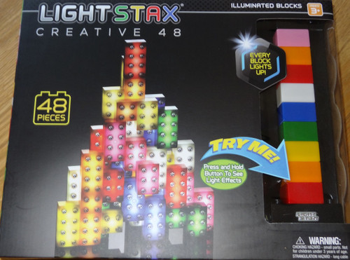 Light Stax Creative 48 piece Light up Building Block