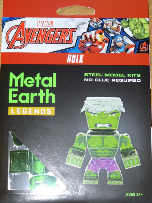Hulk Metal Earth Legends