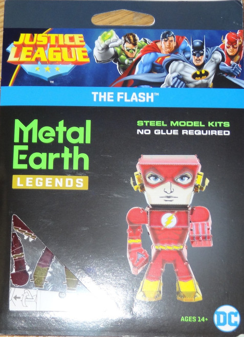 The Flash Metal Earth Legends