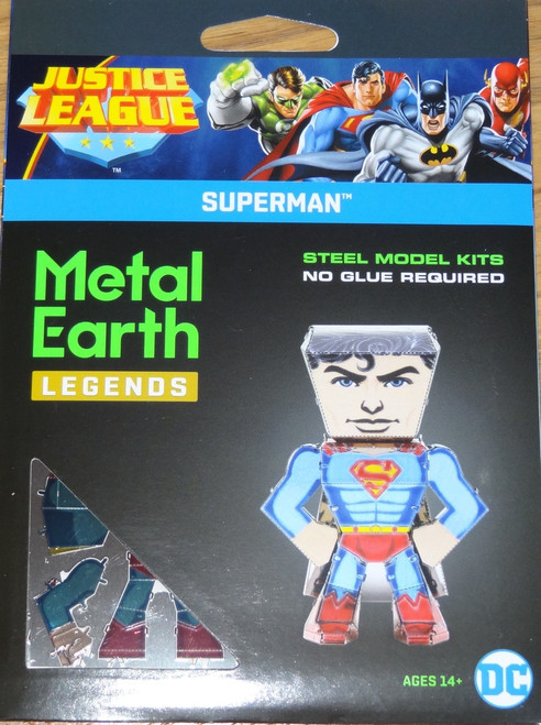 Superman Metal Earth Legends