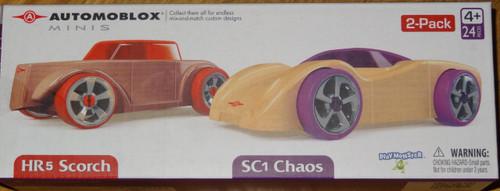 2 Pack HR5 Scorch & SC1 Chaos Automoblox Minis