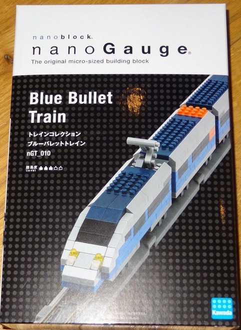 Blue Bullet Train Nanoblock