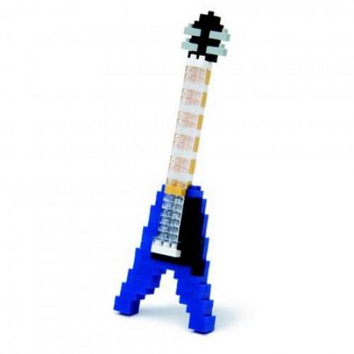 Electric Guitar Blue Nanoblock