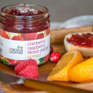 Cranberry Raspberry Blood Orange Spread