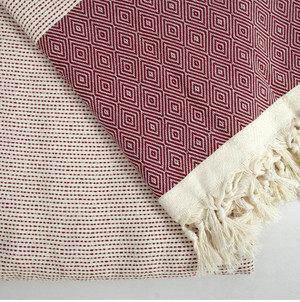 Burgundy Quick Pick  XL Turkish Blanket