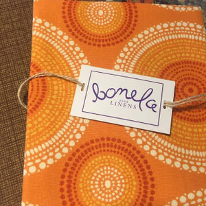 Bonela Linens - Brown Sofa