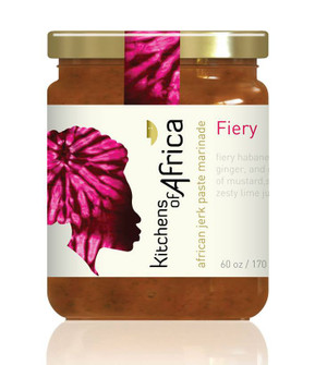 African Jerk Paste Marinade - Fiery