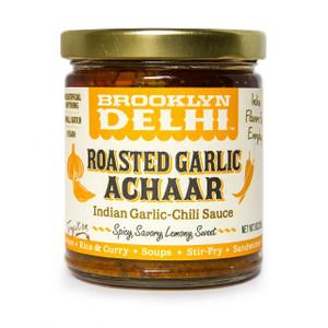 Roasted Garlic Achaar