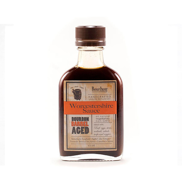 Bourbon Barrel Aged Worchestershire Sauce