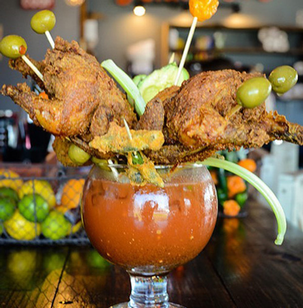 Nashville Hot Bloody Mary