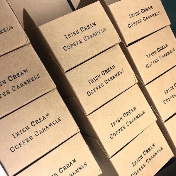 Irish Cream Coffee Caramels