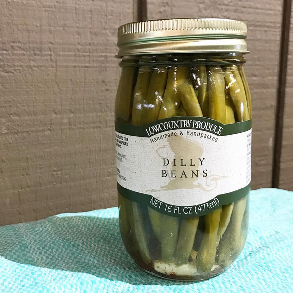 Lowcountry Dilly Beans