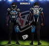 Fully Custom Game Football Uniforms - Design examples