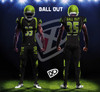 Twill Numbers and Embroidery Football Jerseys and Pants - Liquid Numbers