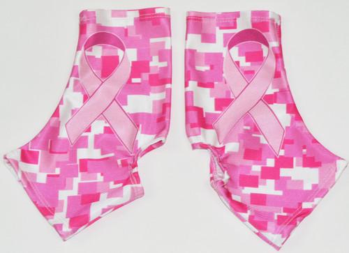Pink Ribbon Diggie Print Spats