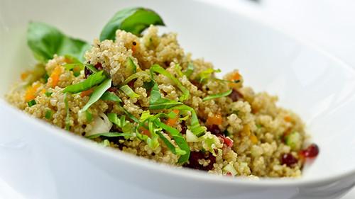 Quinoa salade hapje