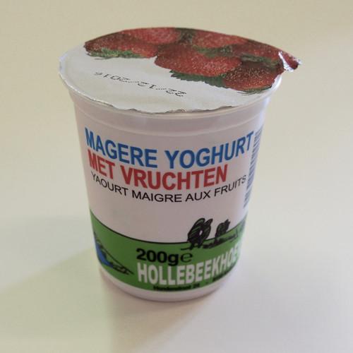 | Yoghurt met vruchten (Hollebeekhoeve) |