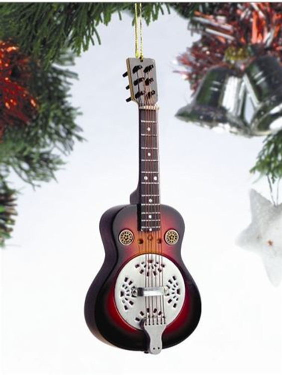 Spider Resonator Guitar Ornament