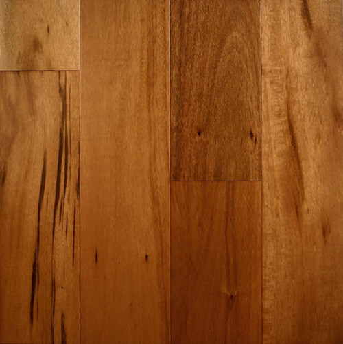 "Prefinished Taun Solid Hardwood Flooring 5 8 X 4 3 4: ARK Floors Elegant Exotic Collection 3/4"" X 3-5/8"" Acacia"