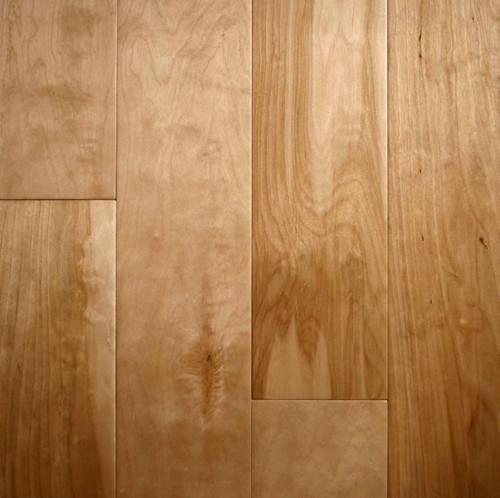 "ARK Floors Artistic Collection 1/2"" x 4-3/4"" Birch Natural Scrape Engineered Hardwood"