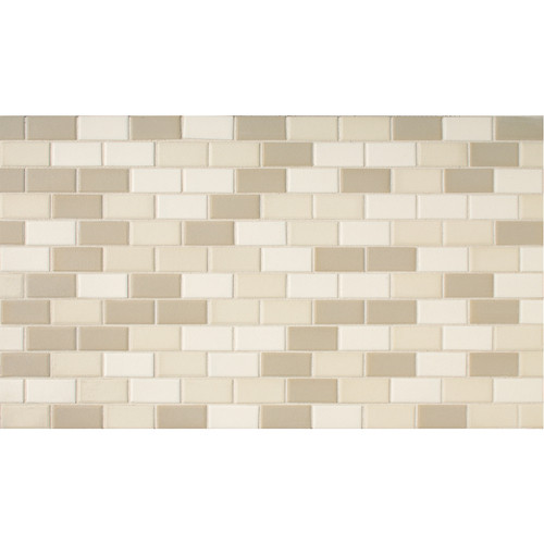 Daltile Keystones Blends X Beach Brick Joint Porcelain Mosaic - Daltile virginia beach
