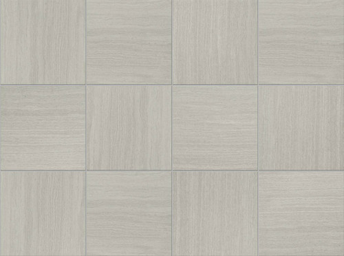 American Florim Stratos X Silver Porcelain Tile Regal - 6 x 12 white porcelain tile