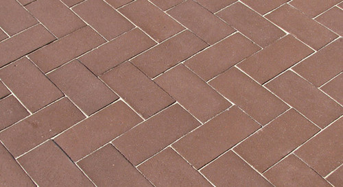 McNear Thin Brick Commercial Series Sepia Pavers