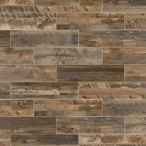 "Marazzi Preservation Petrified Gray 9"" x 36"" Field Tile"