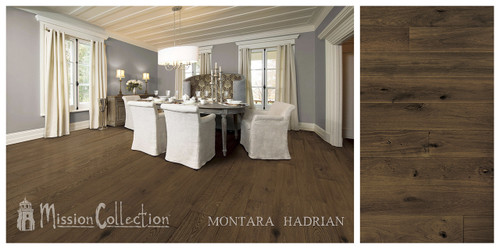 "Mission Collection Montara Hadrian 1/2"" x 7 1/2"" European White Oak Hardwood"
