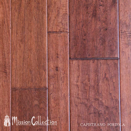 "Mission Collection Capistrano Portola 1/2"" x 7"" Maple Hardwood"