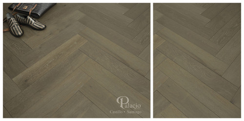 "Palacio Castillo Santiago 1/2"" x 4 3/4"" French White Oak Hardwood"
