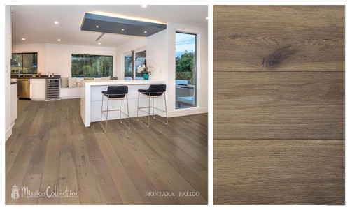 "Mission Collection Montara Palido 1/2"" x 7 1/2"" European White Oak Hardwood"